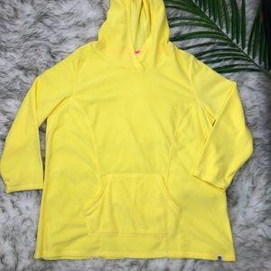 Livi Active Yellow Hoodie Sweater Fleece 14/16